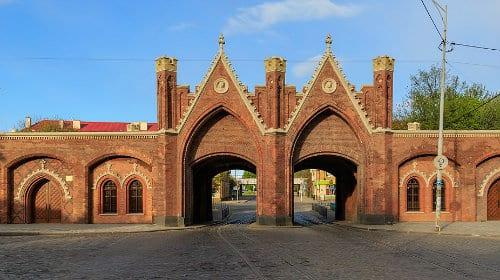 Mejores barrios para alojarse en Kaliningrado, Rusia - Cerca de la Puerta de Brandeburgo