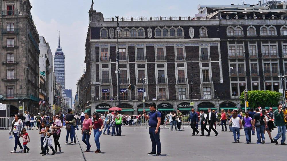 Mejores zonas donde alojarse en CDMX - Centro Histórico