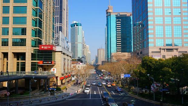 Huaihai Road - Zona recomendada donde dormir en Shanghái