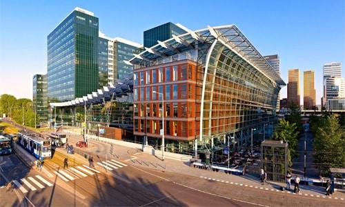 Mejores barrios donde alojarse en Ámsterdam - Zuidas