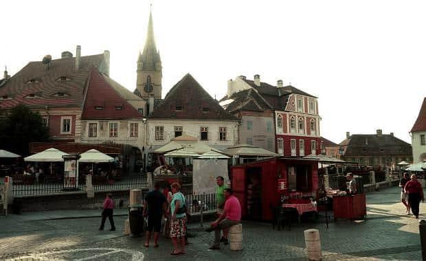 Piata Mica - Qué ver en Sibiu