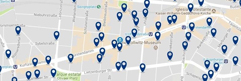 Berlin - K'Damm - Haz clic para ver todos los hoteles en un mapa