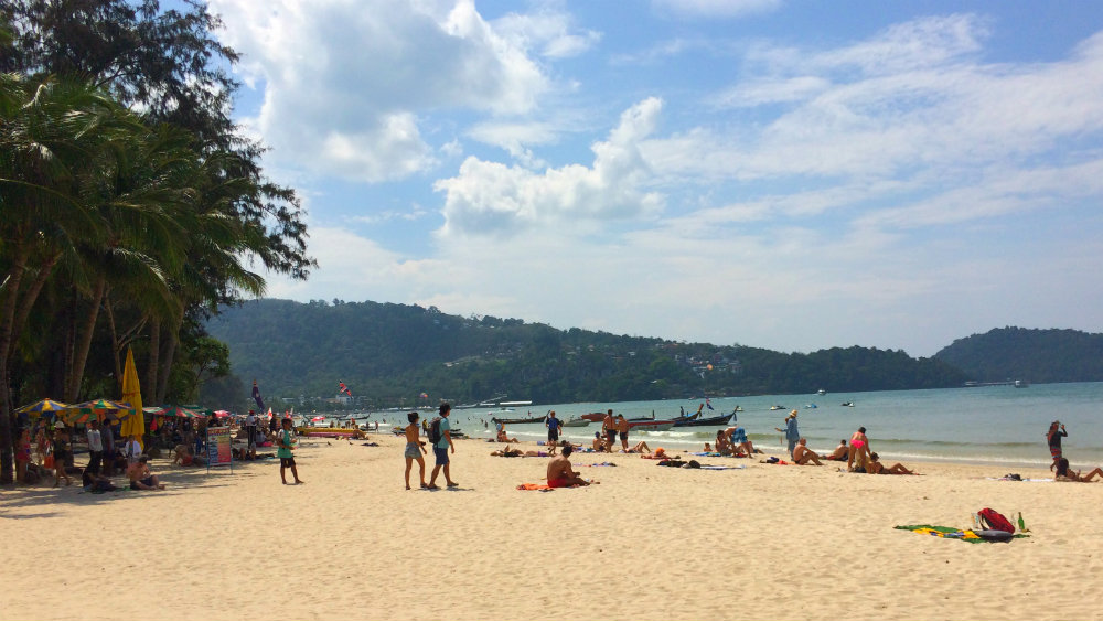 Dónde alojarse en Phuket - Patong Beach