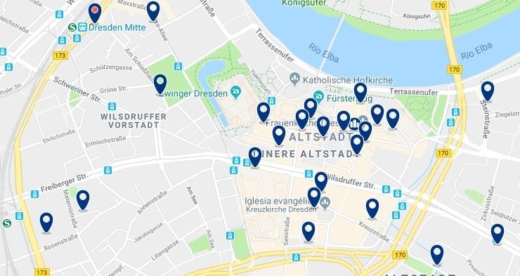 Dresden - Altstadt - Haz clic para ver todos los hoteles en un mapa