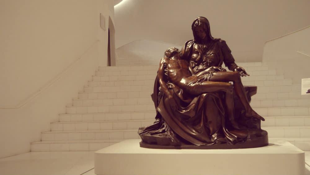 La Pietà de Michelangelo - Museo Soumaya, Ciudad de México