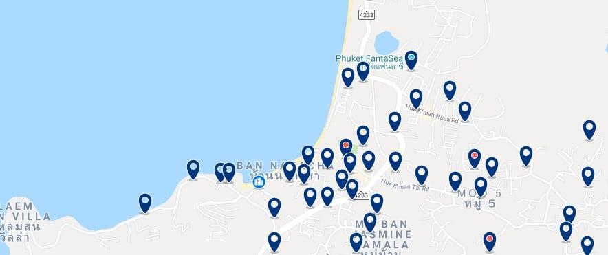 Phuket - Kamala Beach - Haz clic para ver todos los hoteles en un mapa