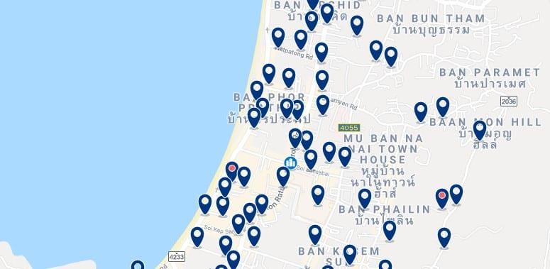 Phuket - Patong Beach - Haz clic para ver todos los hoteles en un mapa