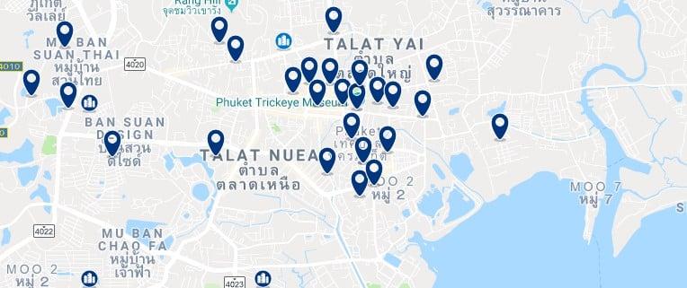 Phuket Town - Haz clic para ver todos los hoteles en un mapa