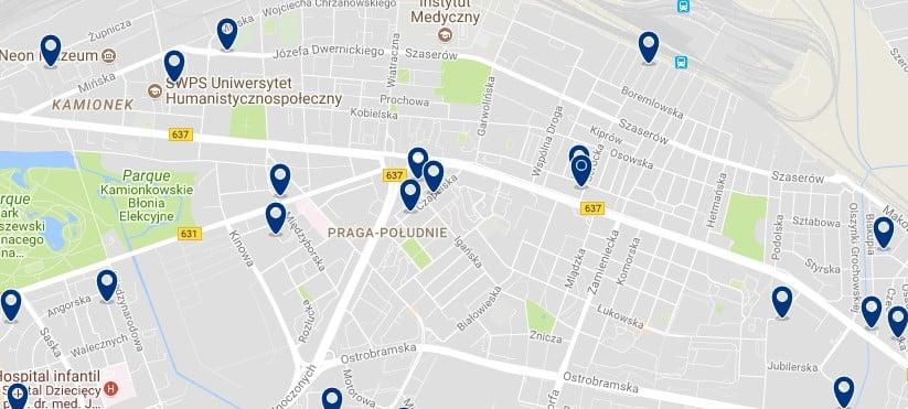 Praga Polundie - Mejores barrios donde alojarse en Varsovia