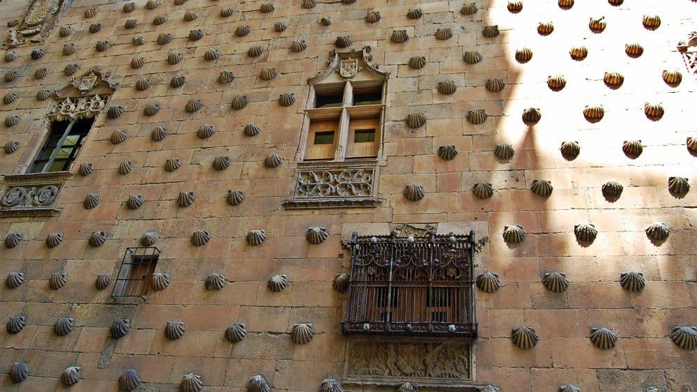 Qué ver en Salamanca - Casa de las Conchas