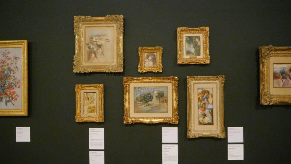 Sala de los impresionistas europeos - Museo Soumaya CDMX