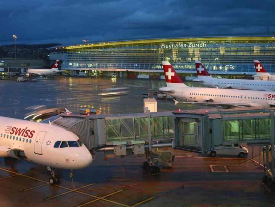Alojarse cerca del aeropuerto de Zúrich