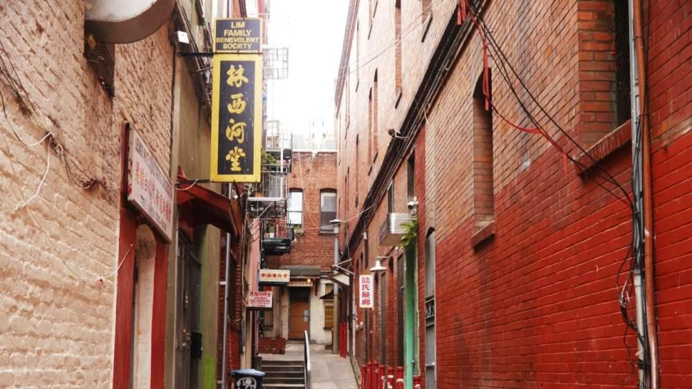 Callejones del Chinatown de San Francisco