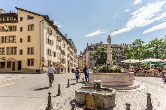 Dónde alojarse en Ginebra - Cité - Casco Antiguo