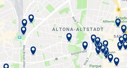 Amburgo - Altona - Clicca qui per vedere tutti gli hotel su una mappa
