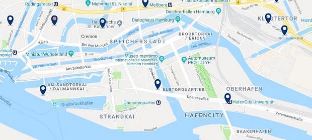 Hamburg - Hafencity - Haz clic para ver todos los hoteles en un mapa