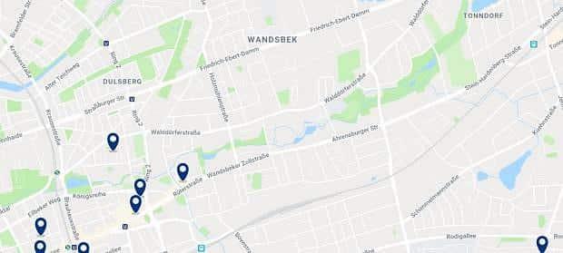 Amburgo - Wandsbek - Clicca qui per vedere tutti gli hotel su una mappa