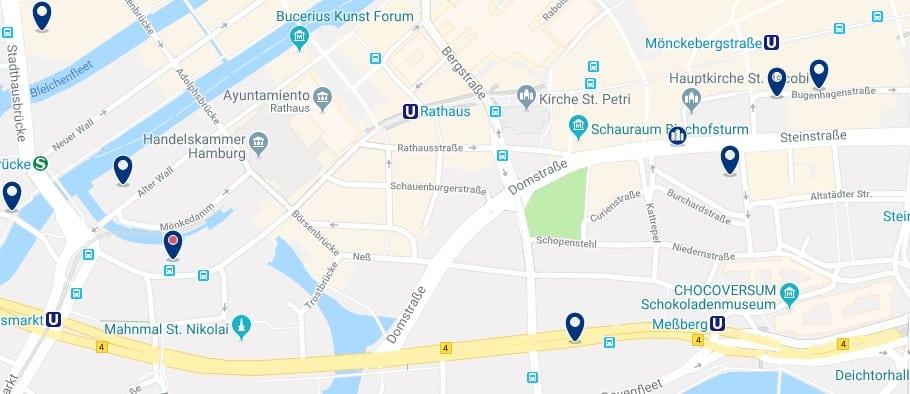 Hamburgo - Altstadt - Clicca qui per vedere tutti gli hotel su una mappa