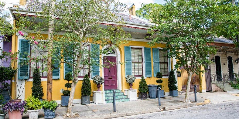 Mejores barrios donde alojarse en Nueva Orleans - Fabourg Marigny