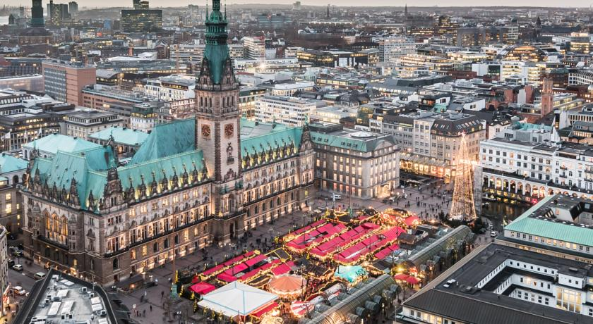 Mejores zonas donde dormir en Hamburgo - Altstadt
