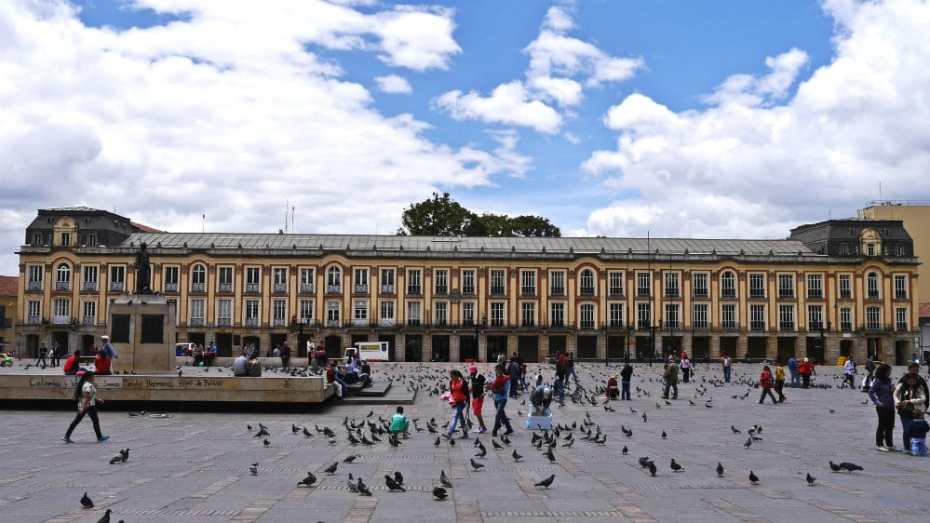 Palacio del Liévano - Plaza de Bolívar de Colombia
