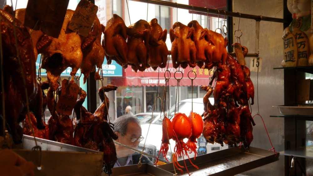 Restaurante chino en Chinatown, SF