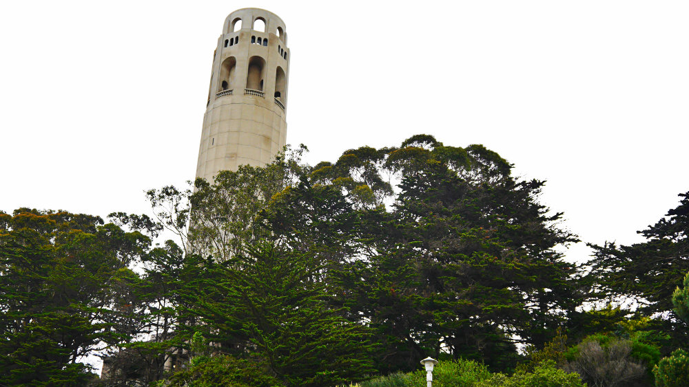 Torre Coit y Telegraph Hill
