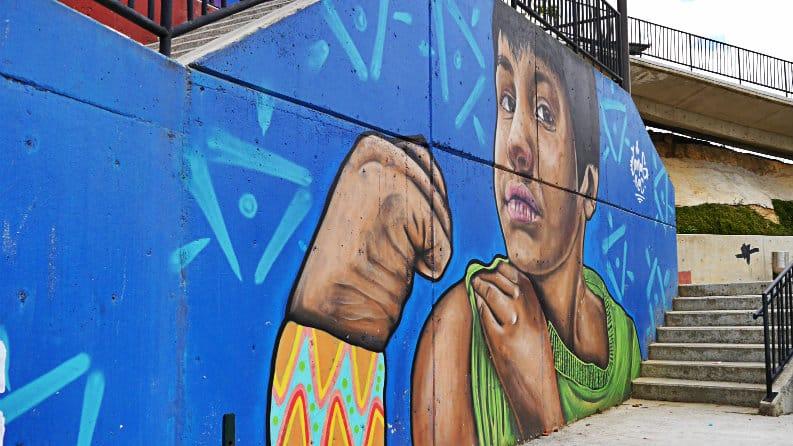 Arte urbano en la Comuna 13