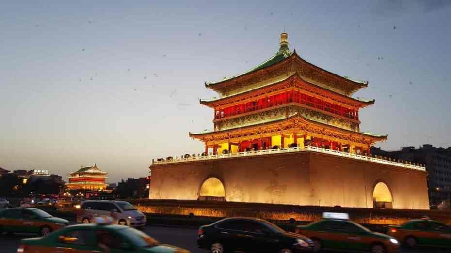 Mejores zonas donde dormir en Xi'an - Centro de la ciudad