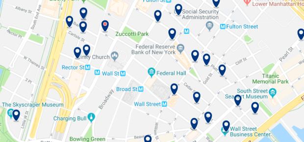 Nueva York - Queens - Haz clic para ver todos los hoteles en un mapa