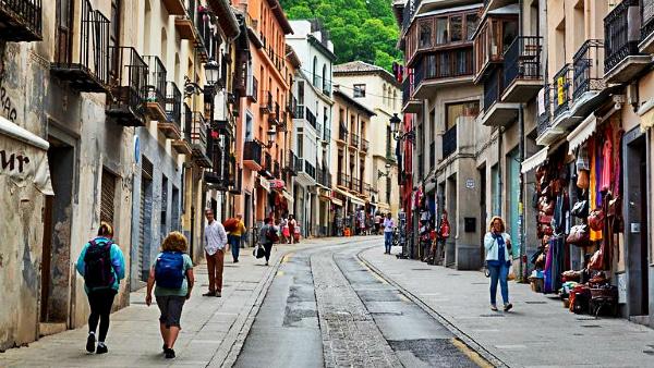 Mejores zonas donde dormir en Granada, España – Centro