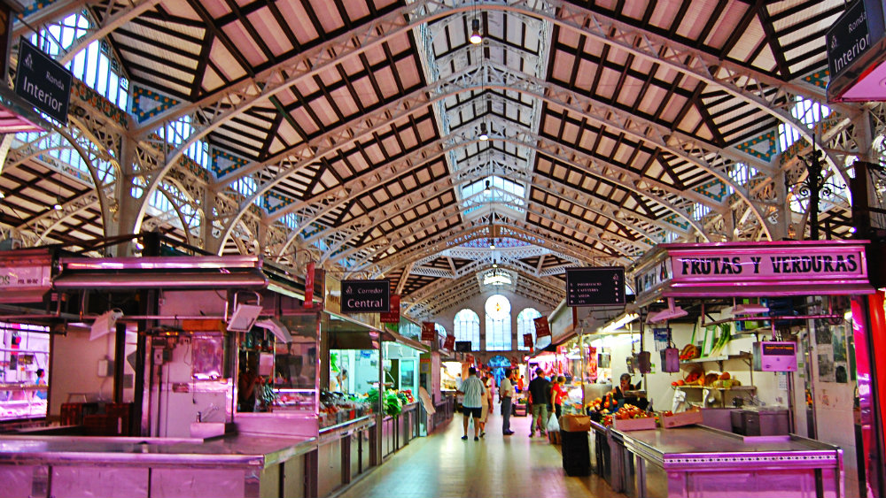 Mercado Central de Valencia - Interior