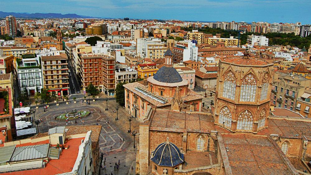 Vistas desde el Miguelete - Centro de Valencia