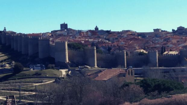 Vistas de Ávila desde los Cuatro Postes - Dónde alojarse en Ávila