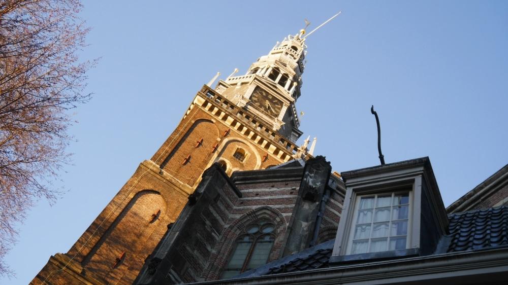 Iglesia Oude Kerk de Ámsterdam