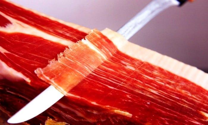 Jamón ibérico - Gastronomía española
