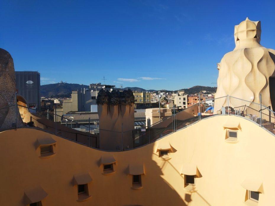 Terraza de la Pedrera (Casa Milà)