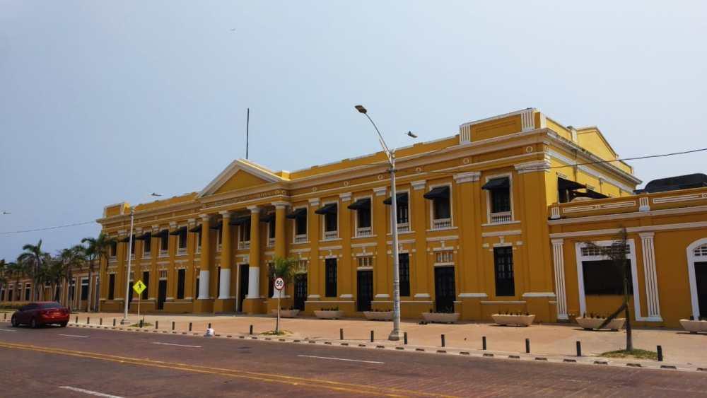 Edificio de la Aduana - Atracciones de Barranquilla