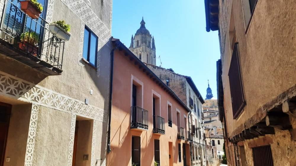 Mejores zonas donde alojarse en Segovia - Judería y centro histórico