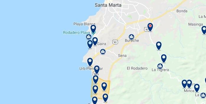 Santa Marta - Bello Horizonte - Haz clic para ver todos los hoteles en un mapa