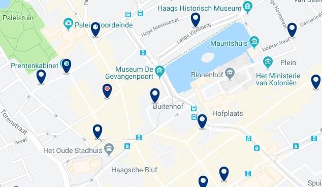 La Haya - Centrum - Haz clic para ver todos los hoteles en un mapa