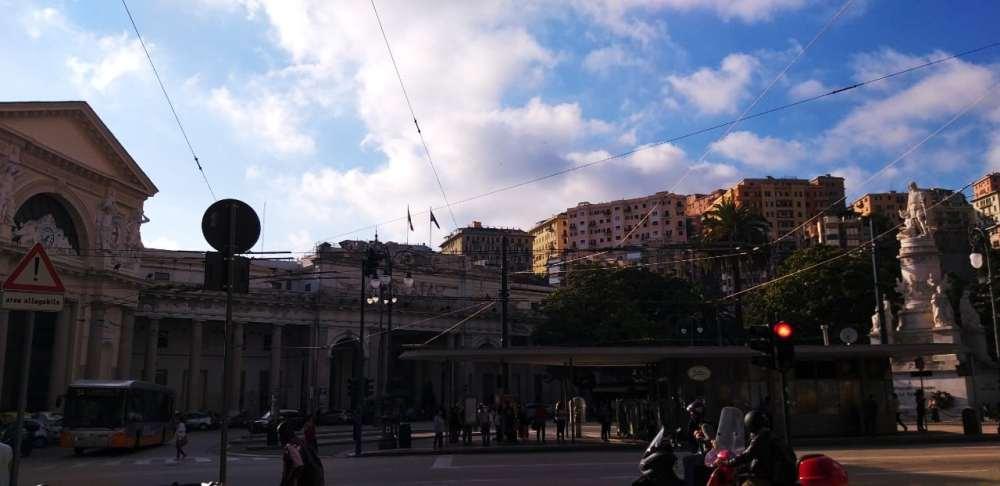 Mejores zonas donde alojarse en Génova - Piazza Principe