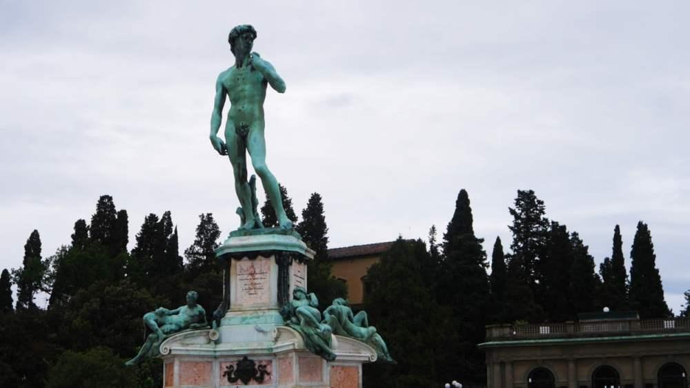 Piazzale Michelangelo - Dónde alojarse en Florencia, Italia