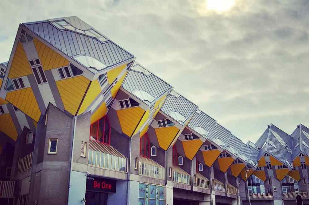 Alojarse cerca de las Casas Cubo - Mejores zonas donde dormir en Rotterdam