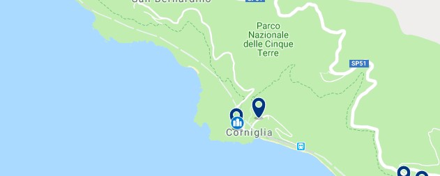 Cinque Terre - Corniglia - Haz clic para ver todos los hoteles en un mapa