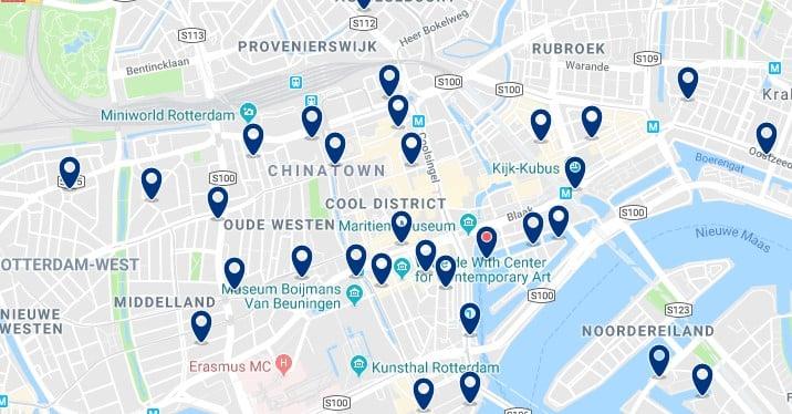 Rotterdam - Centrum & Cool District - Haz clic para ver todos los hoteles en un mapa