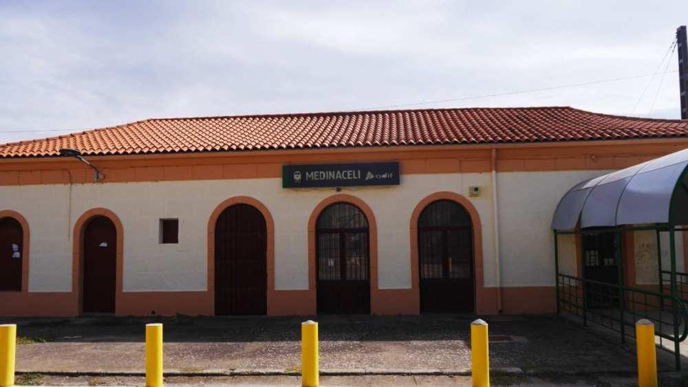 Cómo llegar a Medinaceli en tren - Estación de Renfe