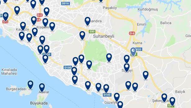 Estambul - Cerca del Aeropuerto Sabiha Gokcenl - Haz clic para ver todos los hoteles en un mapa
