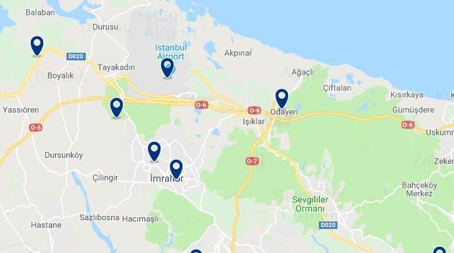 Estambul - Cerca del Aeropuerto de Estambul - Haz clic para ver todos los hoteles en un mapa