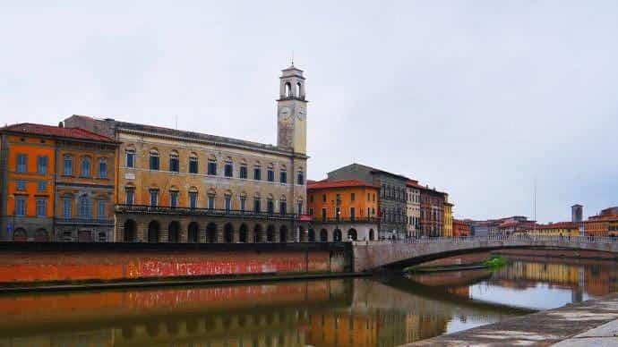 Atracciones imperdibles de Pisa - Ponte di Mezzo